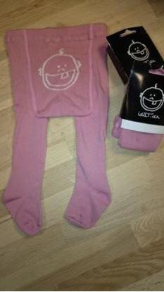 Billede af IdaT Strømpebukser baby - pink