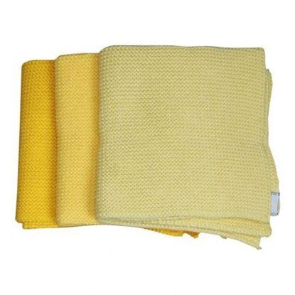 Billede af Babyklude med navn 3 stk. gul