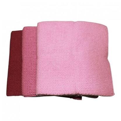 Billede af Babyklude med navn 3 stk. rosa