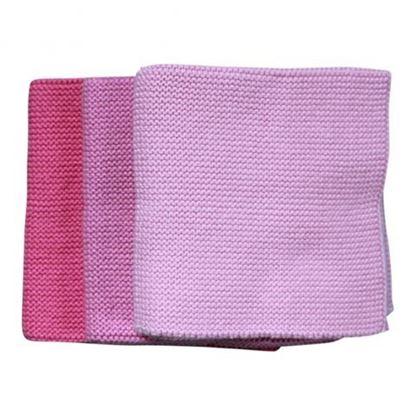 Billede af Babyklude med navn 3 stk. pink