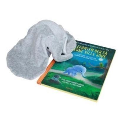 Billede af Elefanten, der så gerne ville sove - med elefant