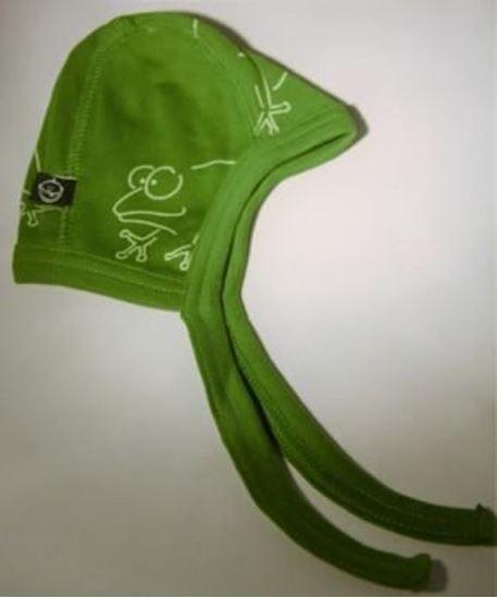 Billede af IdaT - Hjelm - grøn frø