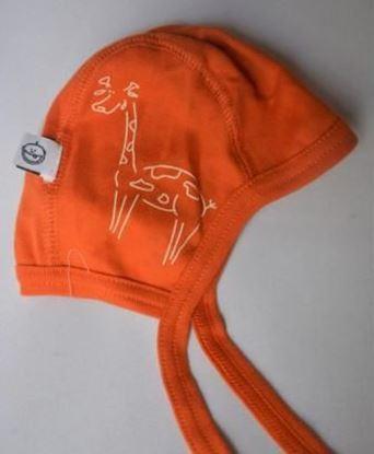 Billede af IdaT - Hjelm - orange giraf