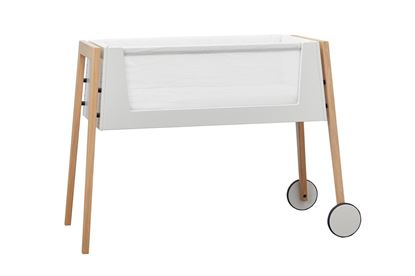 Billede af Leander Linea™ Side By Side seng inkl. madras og sengerand - EG